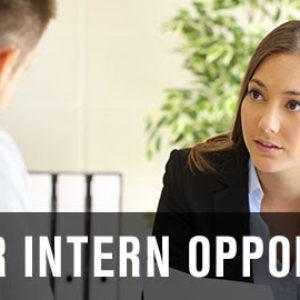 Summer Internship Opportunity