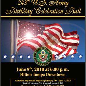 243RD ARMY BALL BIRTHDAY CELEBRATION