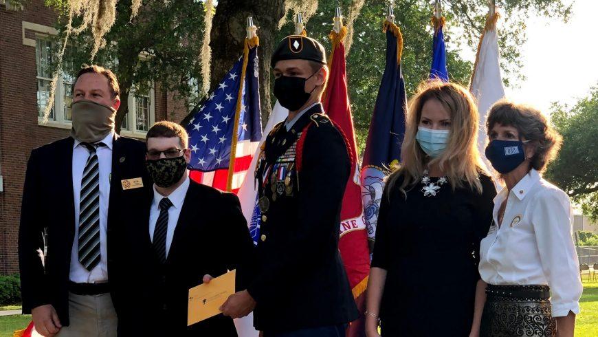 AUSA Suncoast Chapter Congratulates Hillsborough County's JROTC Cadet of the Year