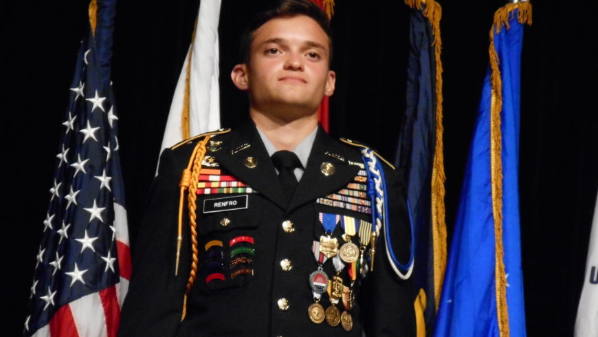 AUSA Suncoast Chapter Congratulates Hillsborough County's Cadet of the Year