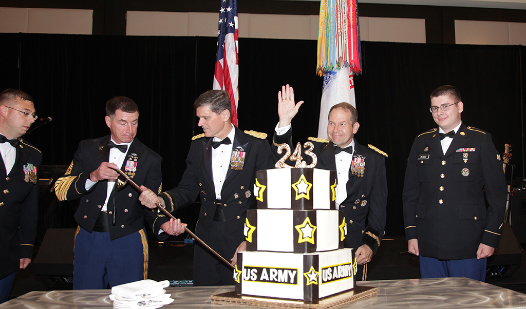 AUSA Celebration Honoring the 244th Birthday of US Army