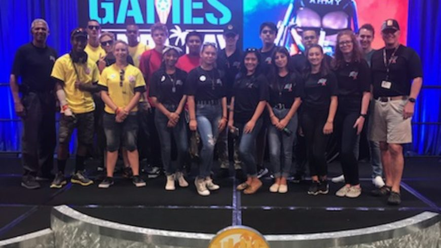 JROTC Cadets, MREs and the 2019 DoD Warrior Games